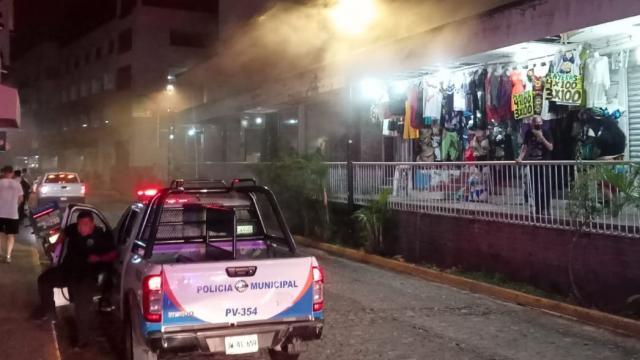 Incendio en Centro de Vallarta