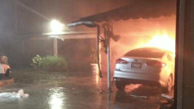 Incendio Villa Las Flores