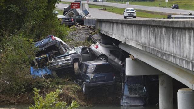 Inundaciones en Tennesse, Nashville