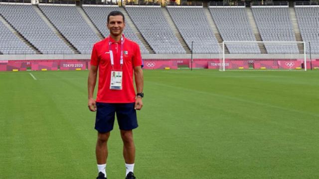 Entrenador de la Selección Mexicana Olímpica