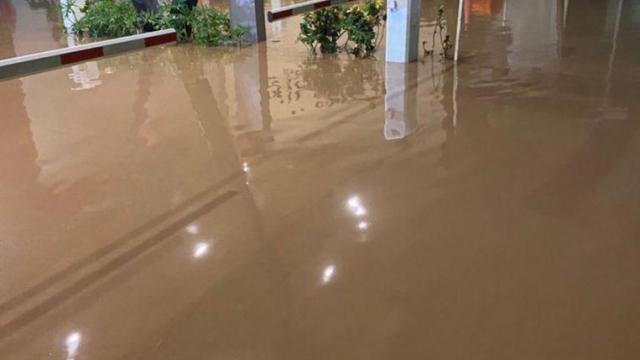 llega el agua a zonas habitacionales de bahia