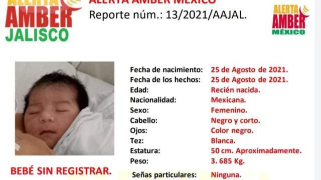 Fiscalía General investiga robo de la bebé en Guadalajara