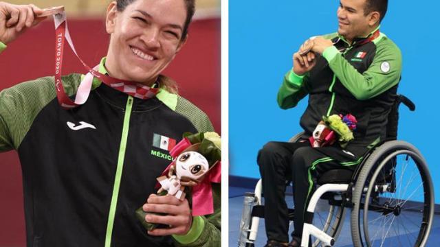 México se lleva dos medallas de bronce en los Paralímpicos