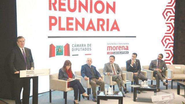 """Piden respaldo """"decidido"""" a las reformas de la 4T"""
