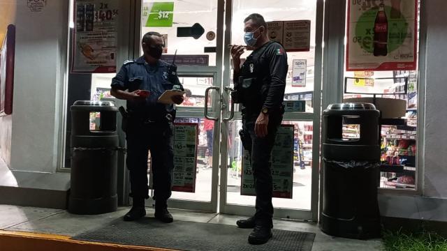 Elementos de la policía