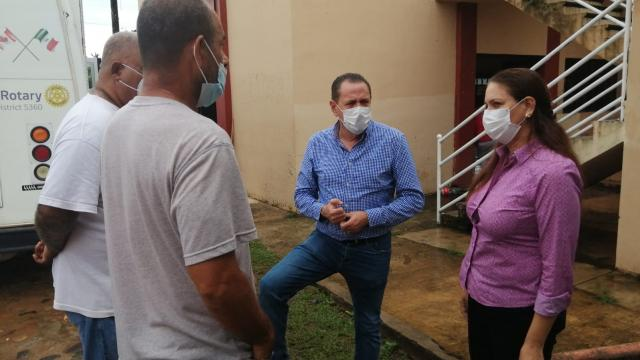 Protección civil realiza acciones operativas en Bahía