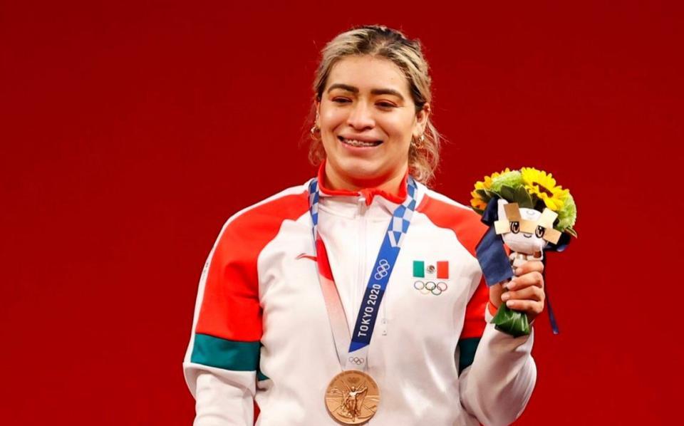 Quién es Aremi Fuentes medallista olímpica