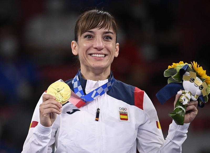 Medallista olímpica, Sandra Sánchez