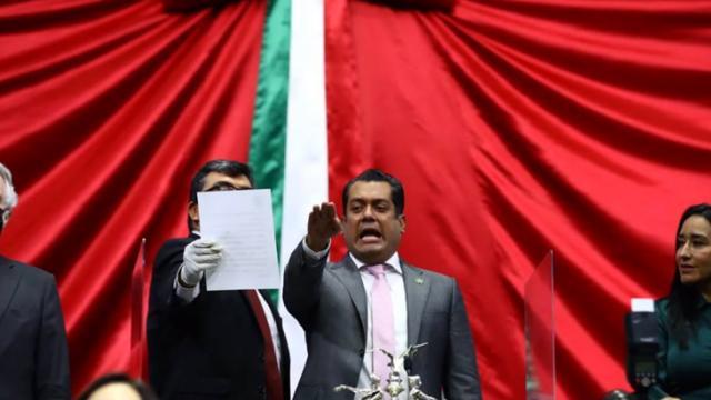 Nuevo presidente de la Mesa Directiva de San Lázaro