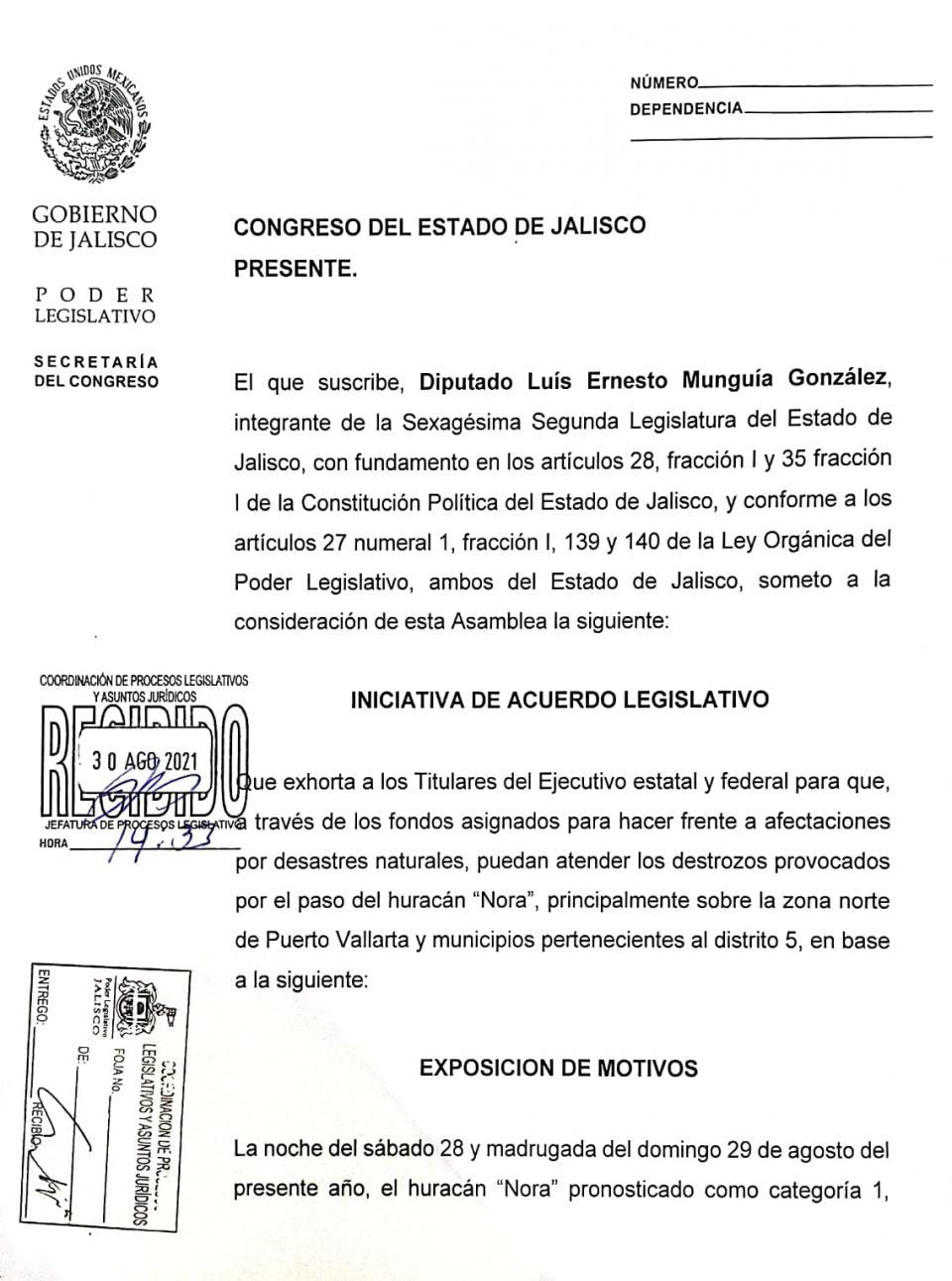 Urge liberar recursos por el paso de Nora Luis Munguía