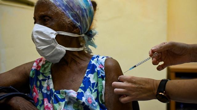Vacunación contra Covid-19 en La Habana