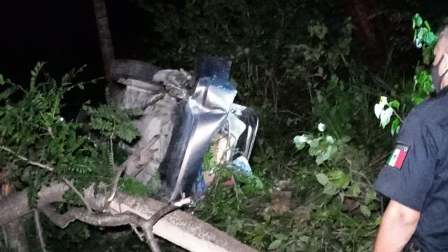 Vecinos del Coapinole sufren trágico accidente en Mismaloya