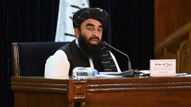 Nuevo gobierno taliban