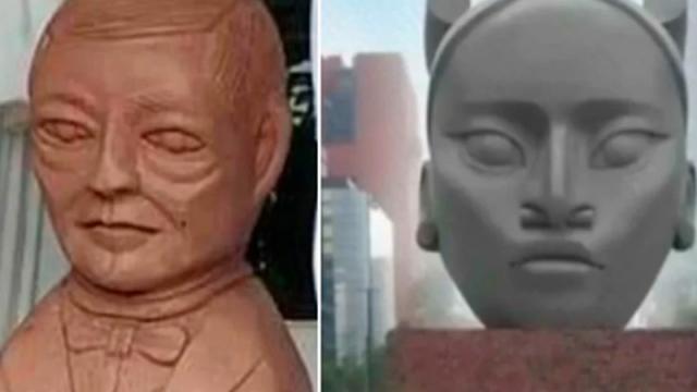 """Critican la escultura """"Tlali"""" con memes"""