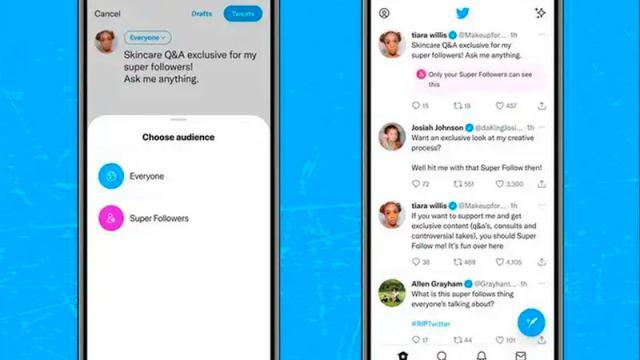 """Twitter activa """"Super Follows"""", estrategia de monetización"""