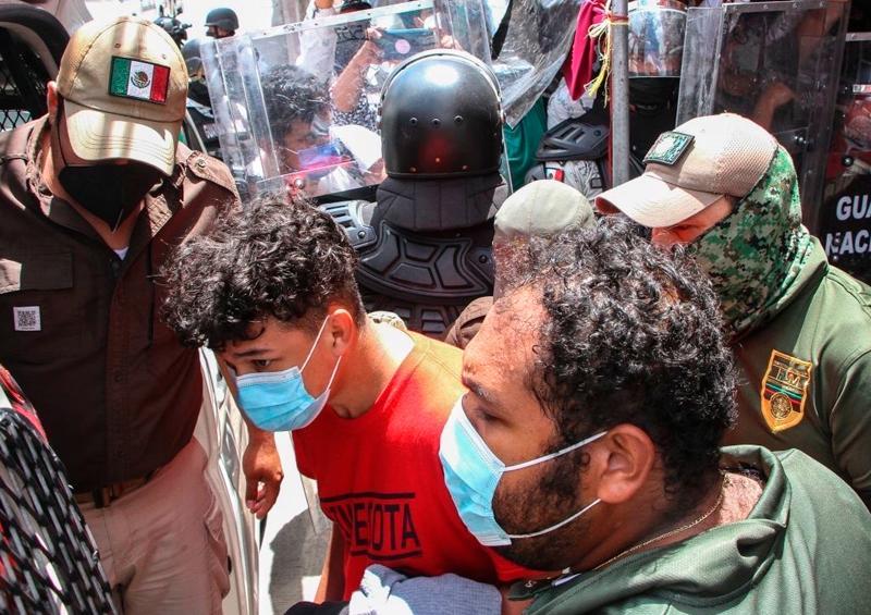 CIDH condena uso excesivo de la fuerza contra migrantes en México
