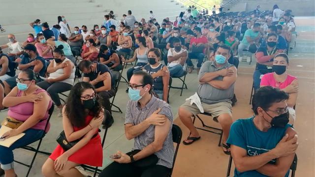 Vallarta es 1er municipio en completar esquema de vacunación