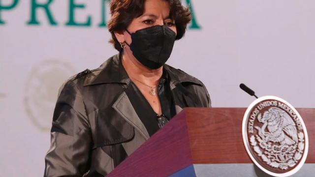 Denuncian a Delfina Gómez por cobro de diezmos en Edomex