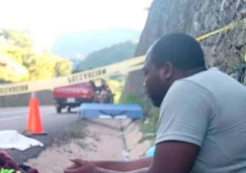 Tráiler mata a niña haitiana a su paso por Chiapas