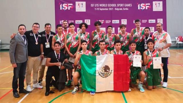 En basquetbol, México Sub 15 obtiene oro en Belgrado