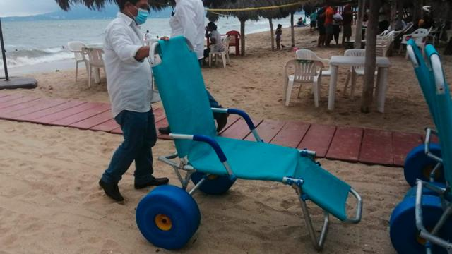 Playa FIBBA de Nuevo Vallarta se convertirá en playa incluyente