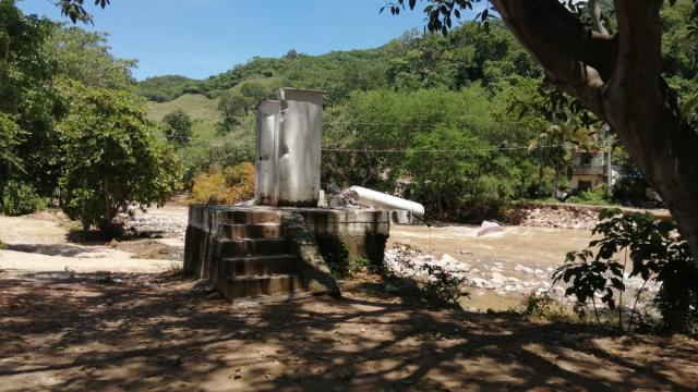 Al menos 30 familias aisladas en Playa Grande y zona serrana