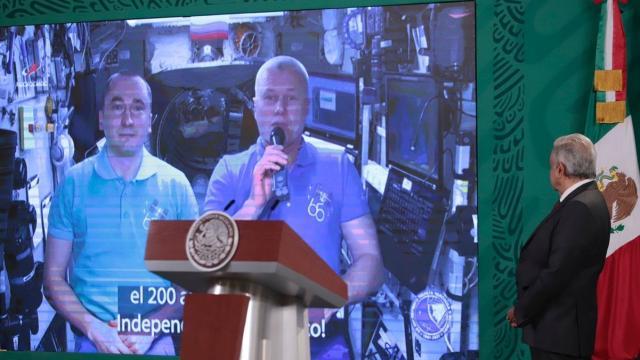 Astronautas rusos