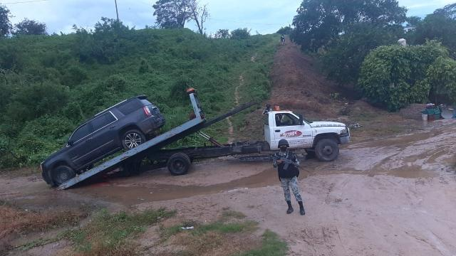 GN asegura vehículo