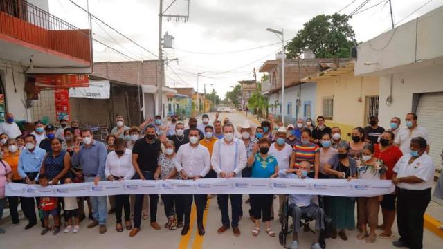 Calle Benito Juárez revitaliza San José Del Valle