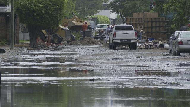Inundaciones en la colonia Versalles