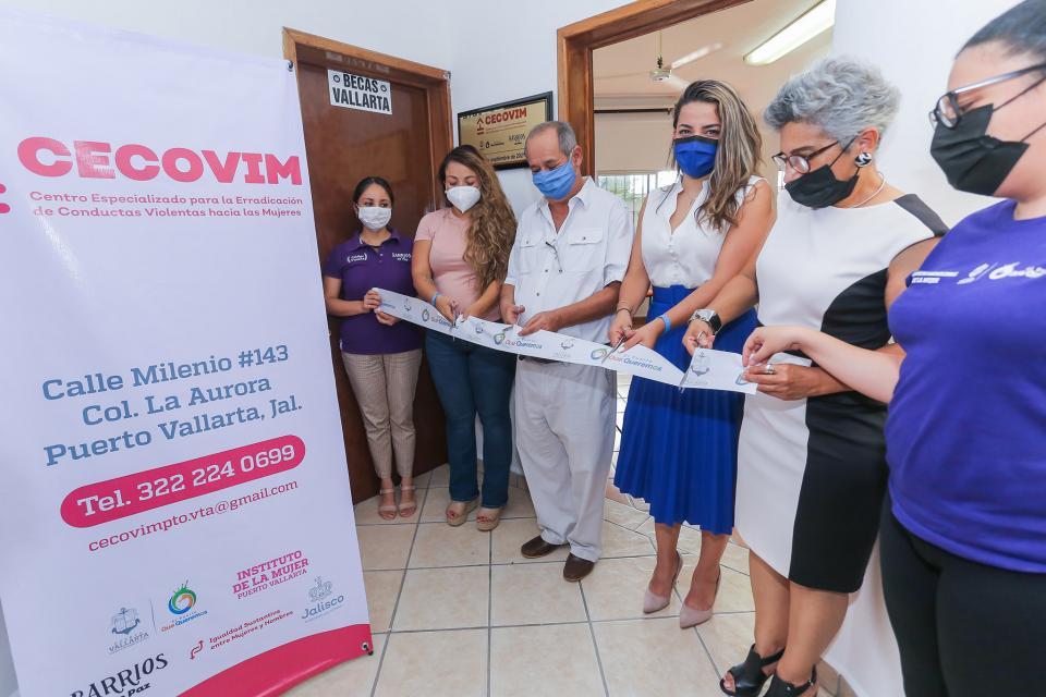 Inauguran oficinas del Cecovim