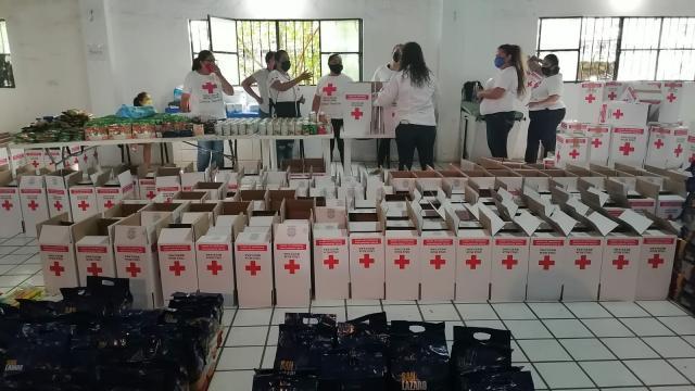 Centro de acopio Cruz Roja