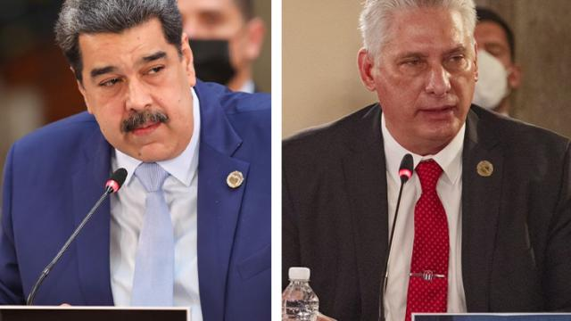 """Diputados del PAN piden a Claudia Sheinbaum que declaren a Díaz-Canel y Maduro como """"personas no gratas"""""""