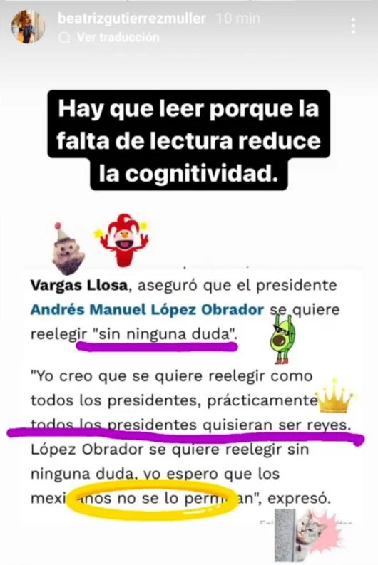 El escritor calificó al presidente López Obrador de populista