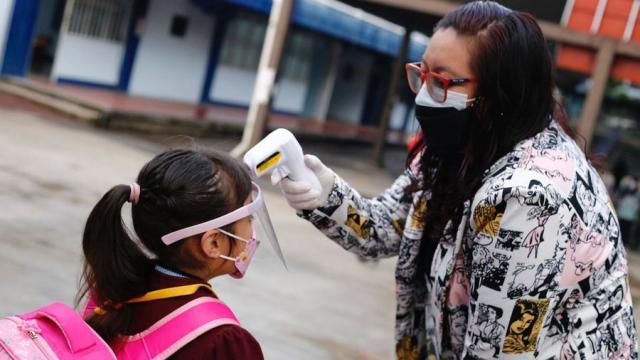 Regreso a clases presenciales en pandemia