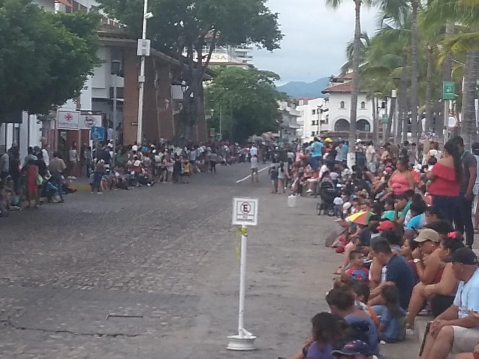 Penúltimo desfile realizado en Puerto Vallarta en el año 2018