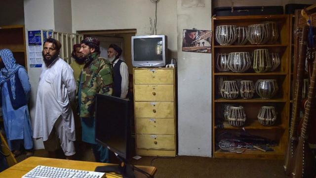 Hacer música en Afganistán