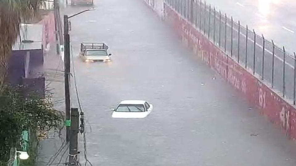 Inundación en Ecatepec