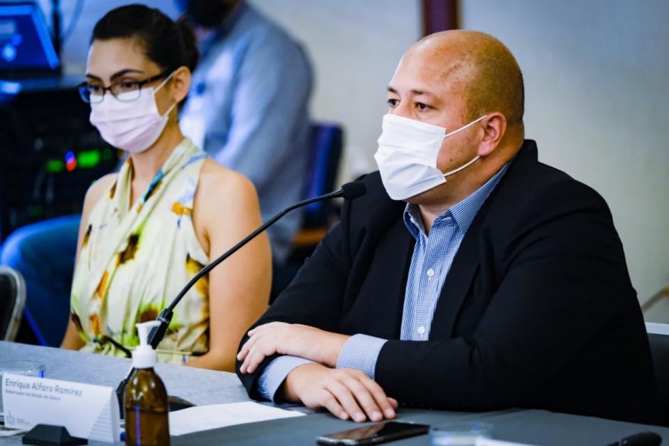Jalisco sin vacunas, Alfaro