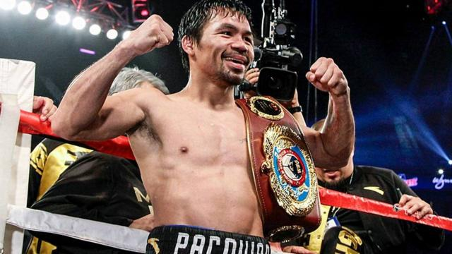 Manny Pacquiao candidato presidencial