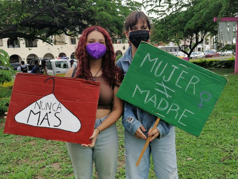 Marcha para despenalización del aborto en Jalisco