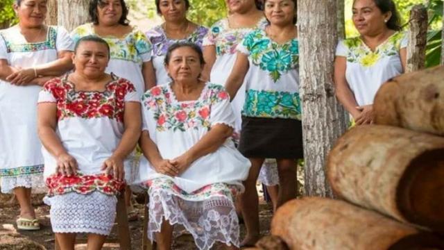 Mujeres maya victimas de discriminación