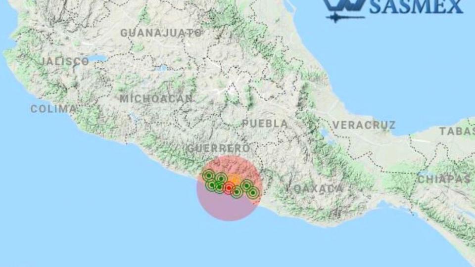 Sismos en Guerrero