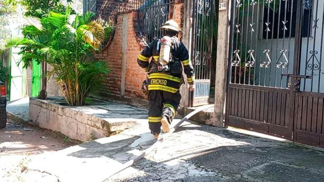 Fuga de gas provoca flamazo e incendio en Jardines
