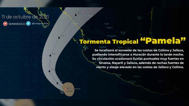 """Sesiona Comité Estatal de Emergencias ante el paso de la tormenta tropical """"Pamela"""" a las costas de Jalisco"""