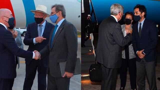diálogo de alto nivel de seguridad entre el gobierno mexicano y el de Estados Unidos.