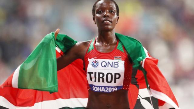 Corredora olímpica keniana presuntamente asesinada por su esposo