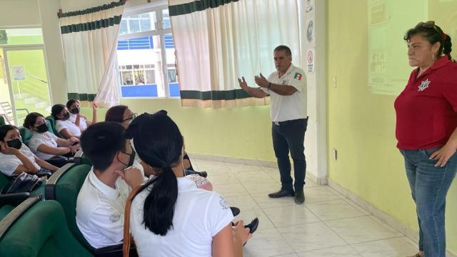 Capacitaciones a la Subdirección de Tránsito y Vialidad del Ayuntamiento de Bahía de Banderas