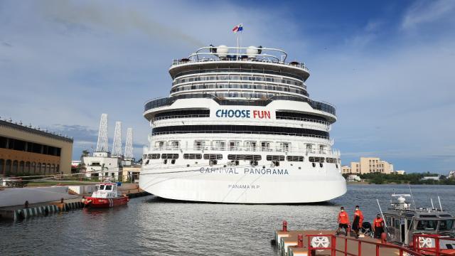 Arribo del Crucero Carnival Panorama en Puerto Vallarta