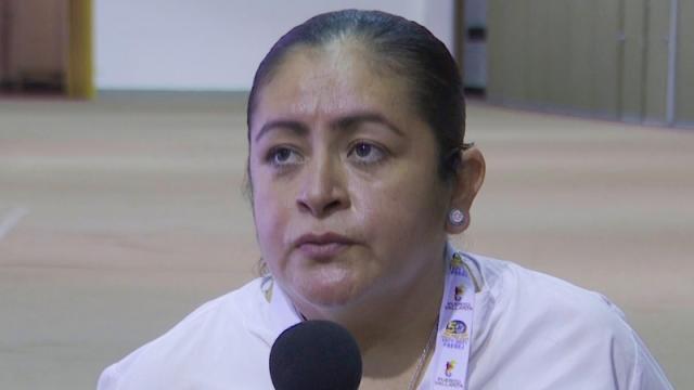 Cecilia Valera Heredia, secretaria general del Sindicato de Trabajadores